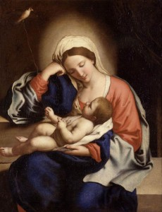 Il_Sassoferrato_-_Madonna_with_the_Christ_Child_-_WGA20874