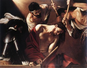 caravaggio-crowning-with-thorns