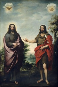 St. John pointing to Christ - Murillo (1655)