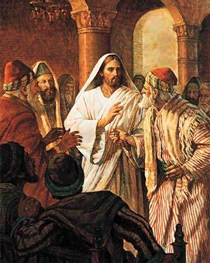 In Todays Gospel From The Mass Jesus Heals A Man With Withered Hand On Sabbath Mark 31 6 Warning There Is Graphic Image Of At