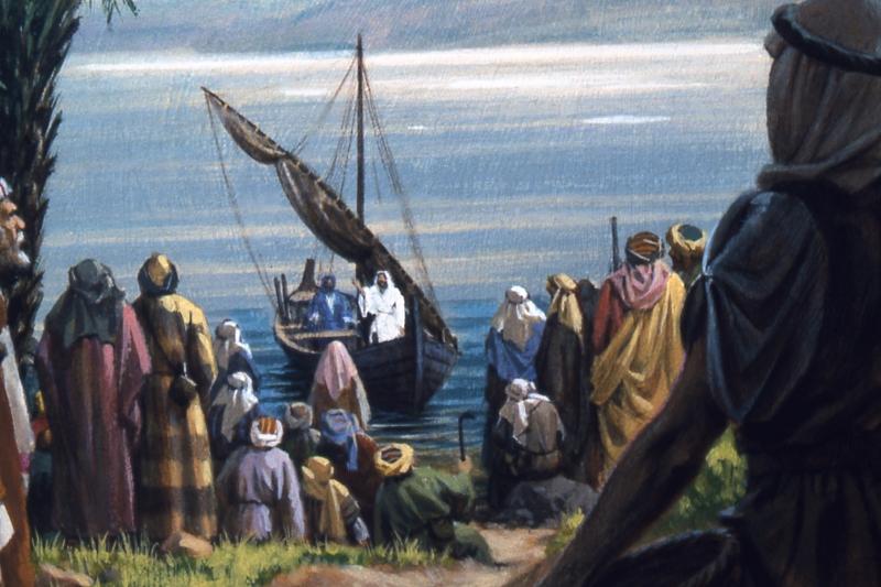 Jesus_in a boat