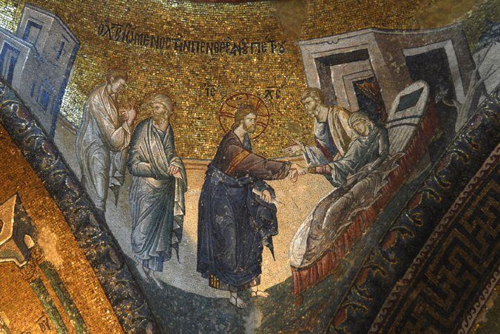 jesus-heals-peters-mother-in-law-chora-museum2