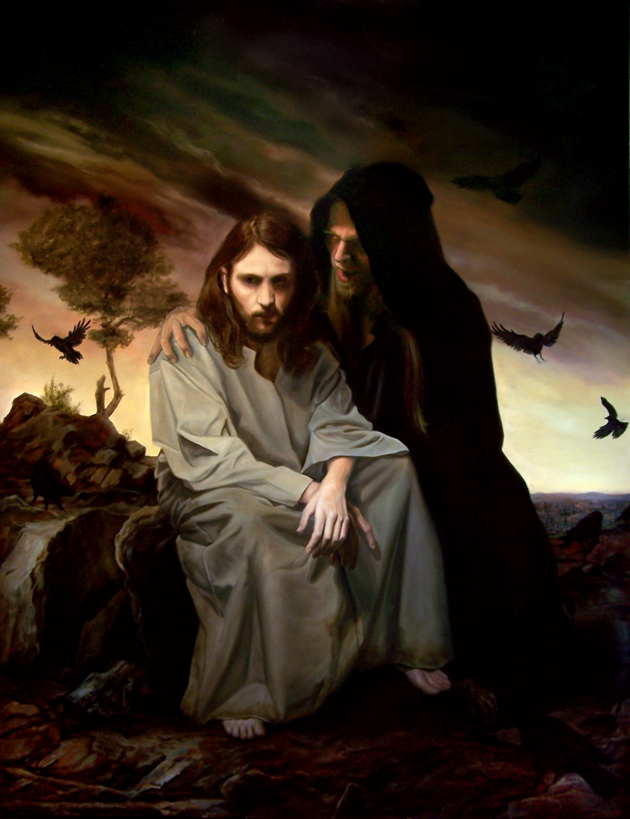 jesus desert temptations The temptations of jesus - luke 4:1-13 jesus, full of the holy spirit, returned from the jordan and was led by the spirit into the wilderness, where for forty days .