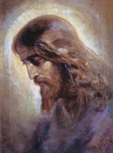 nikolai-koshelev-the-head-of-christ-1880s