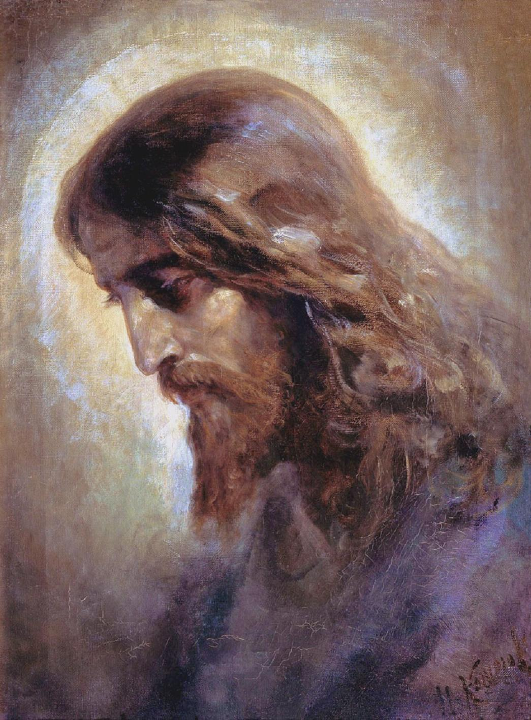 nikolai-koshelev-the-head-of-christ-1880s