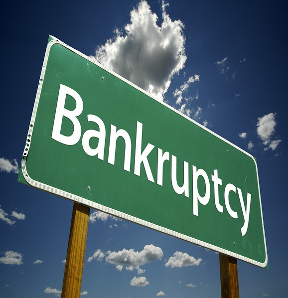 bankruptcy-road-sign
